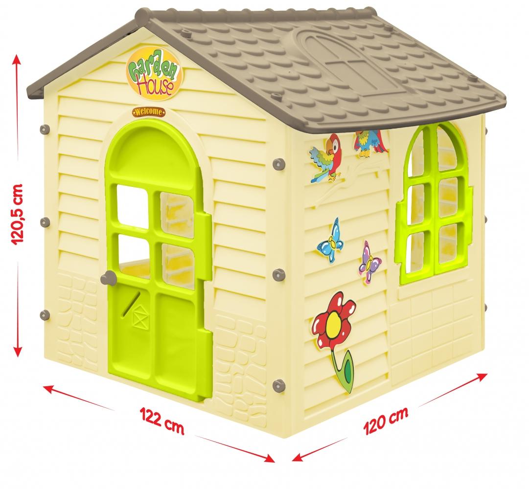 Детский игровой домик Mochtoys Garden Нouse 120 см 0