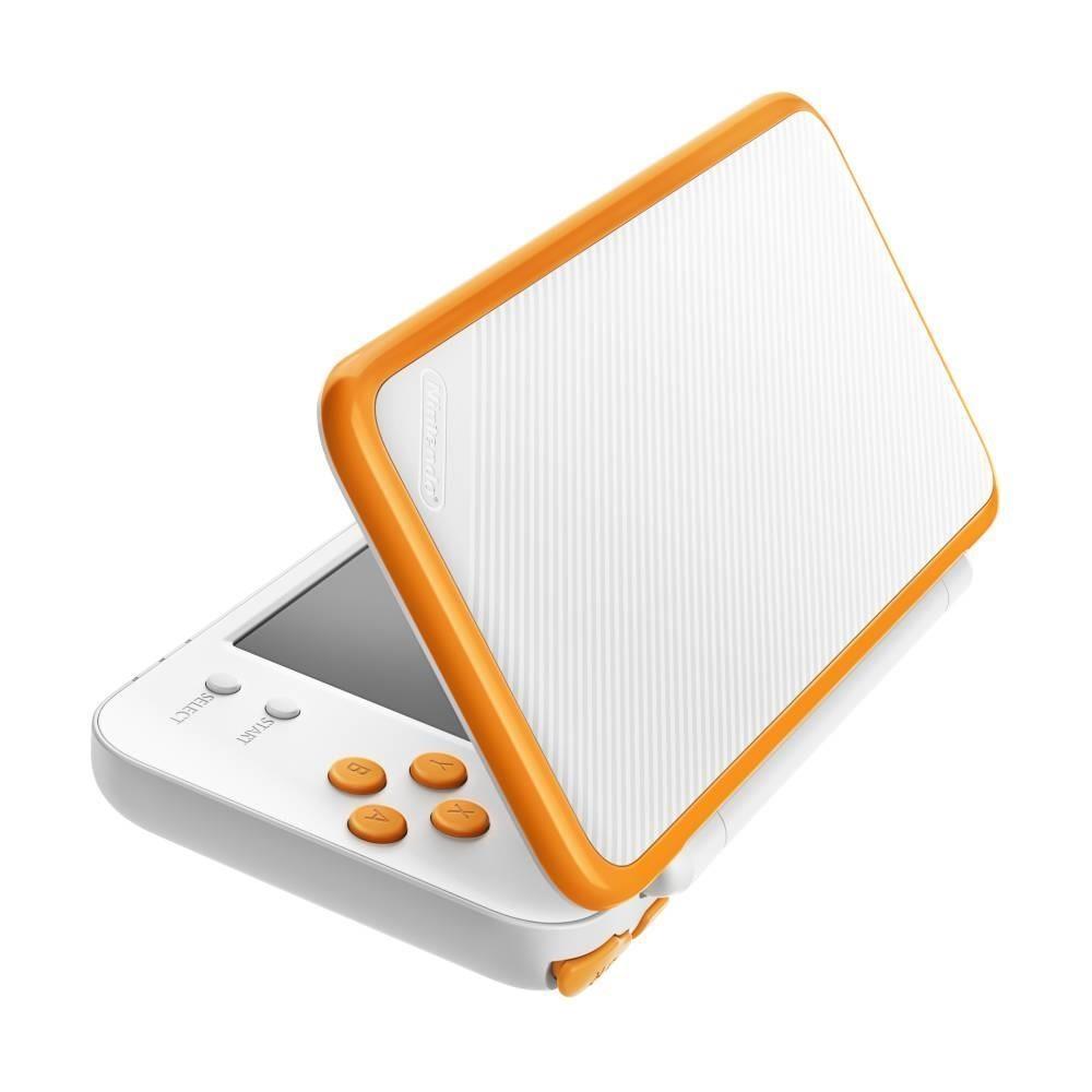 New Nintendo 2DS XL White-Orange (PAL)  0