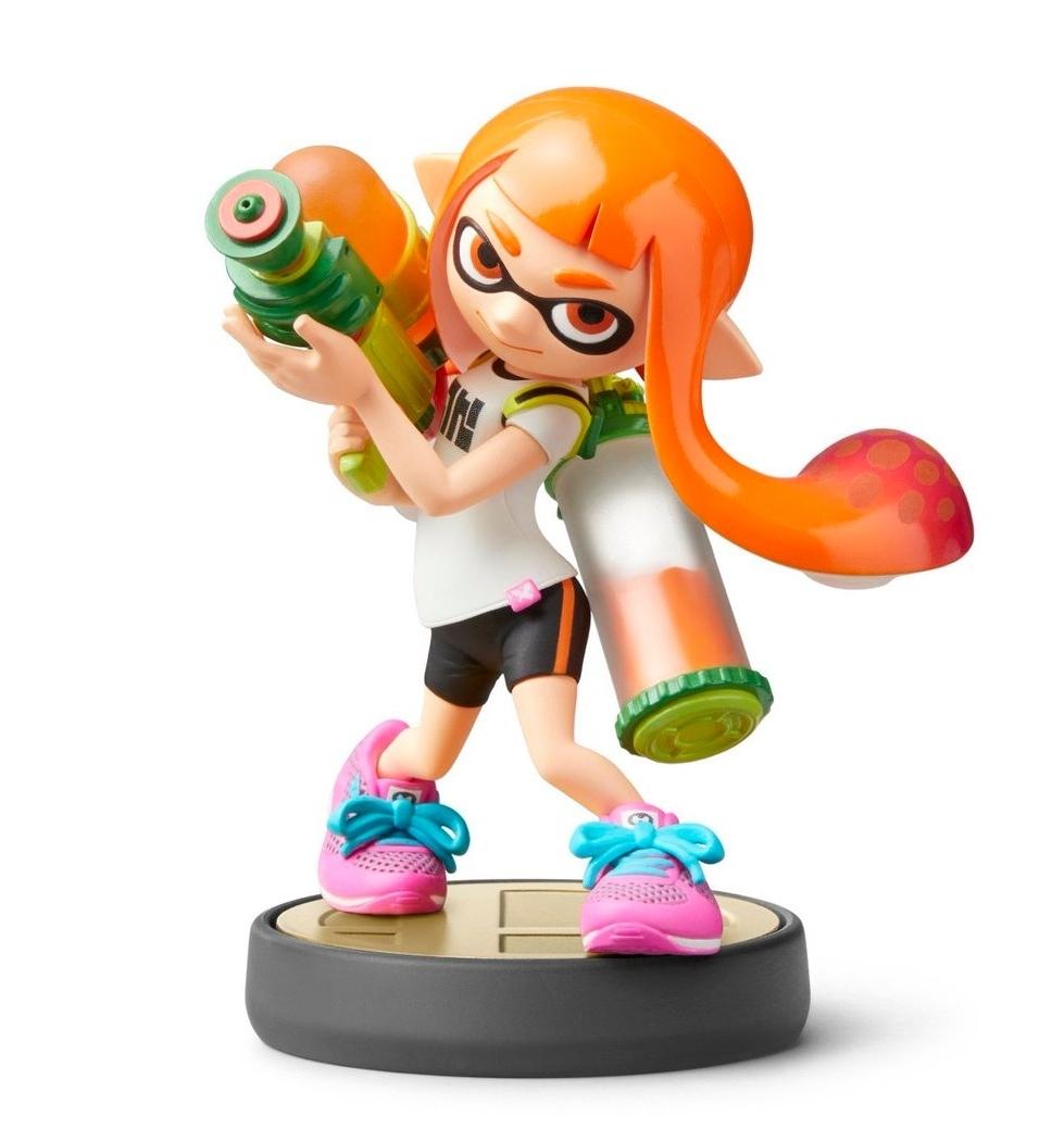 Фигурка Nintendo Amiibo Smash - Inkling Girl  0