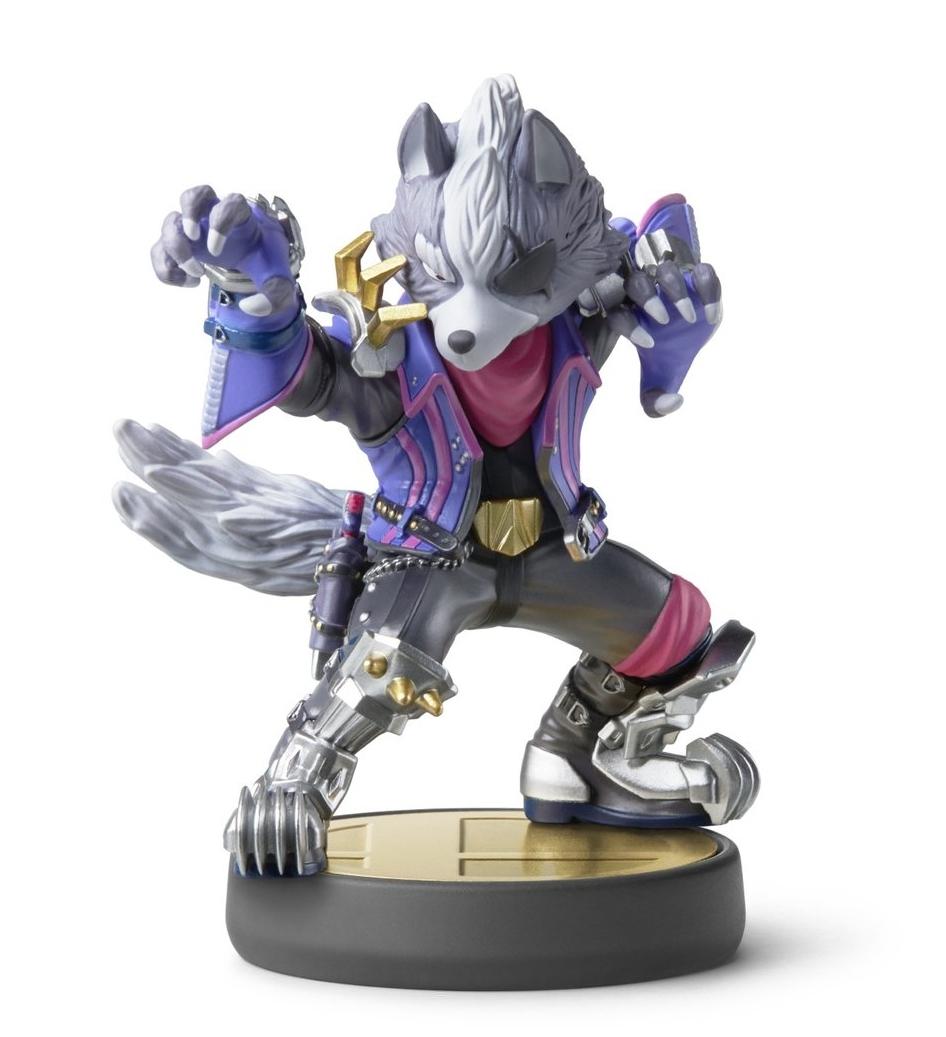 Фигурка Nintendo Amiibo Smash - Wolf  0
