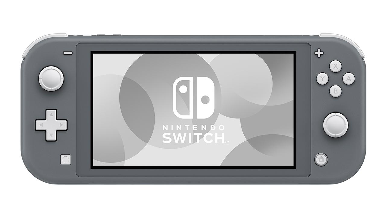 Портативная игровая приставка Nintendo Switch Lite Grey 0
