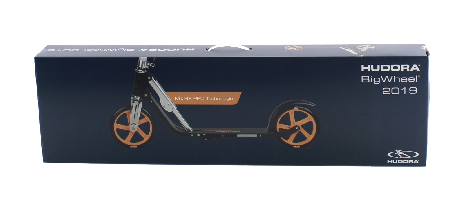 Самокат Hudora Big Wheel 205 RX-Pro Technologie Orange 0