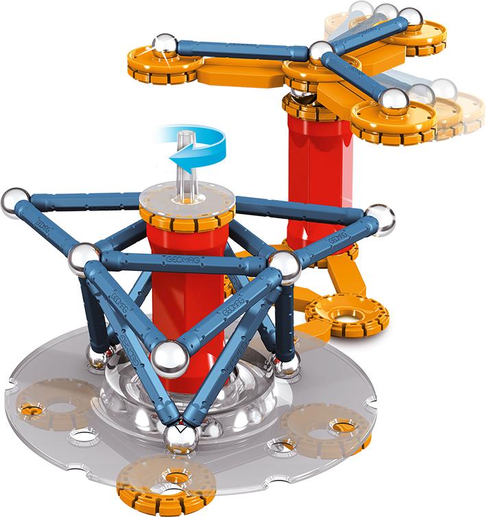 Магнитный конструктор Geomag Mechanics 86 деталей 0