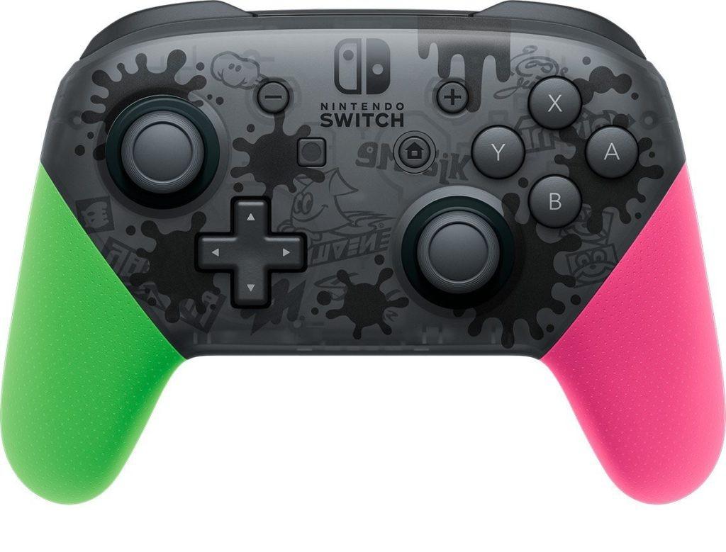 Геймпад Nintendo Switch Pro Controller Splatoon 2 Edition 0