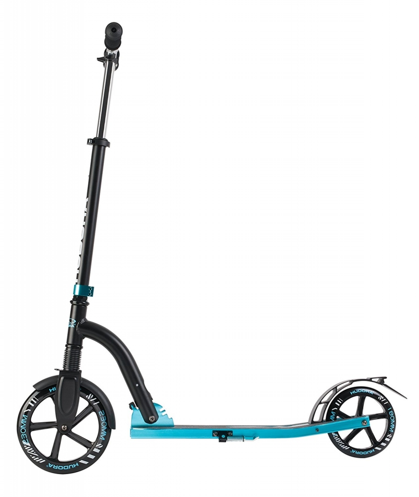 Самокат Hudora Big Wheel Bold Cushion 230 Black-Blue 0