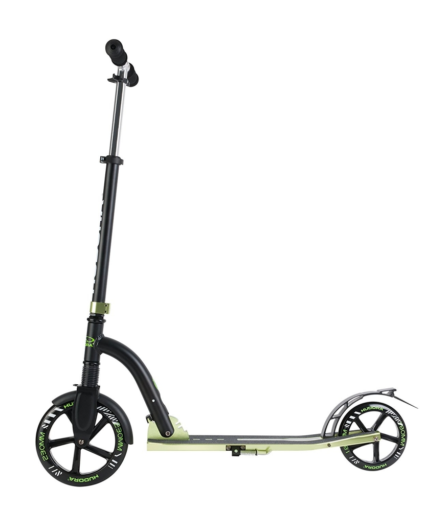 Самокат Hudora Big Wheel Bold Cushion 230 Black-Green 0