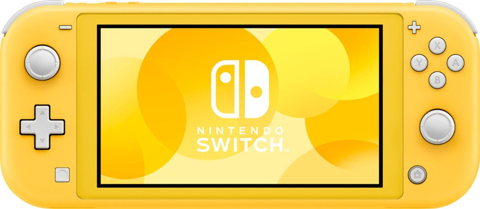 Портативная игровая приставка Nintendo Switch Lite Yellow 0
