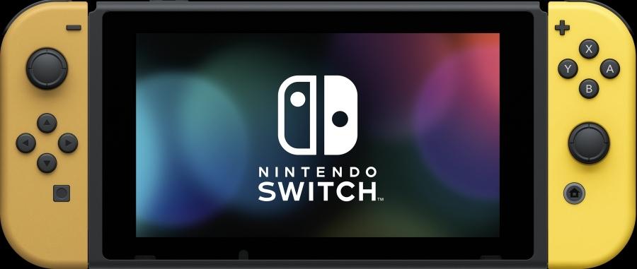 Портативная игровая приставка Nintendo Switch Let's go Eevee 0