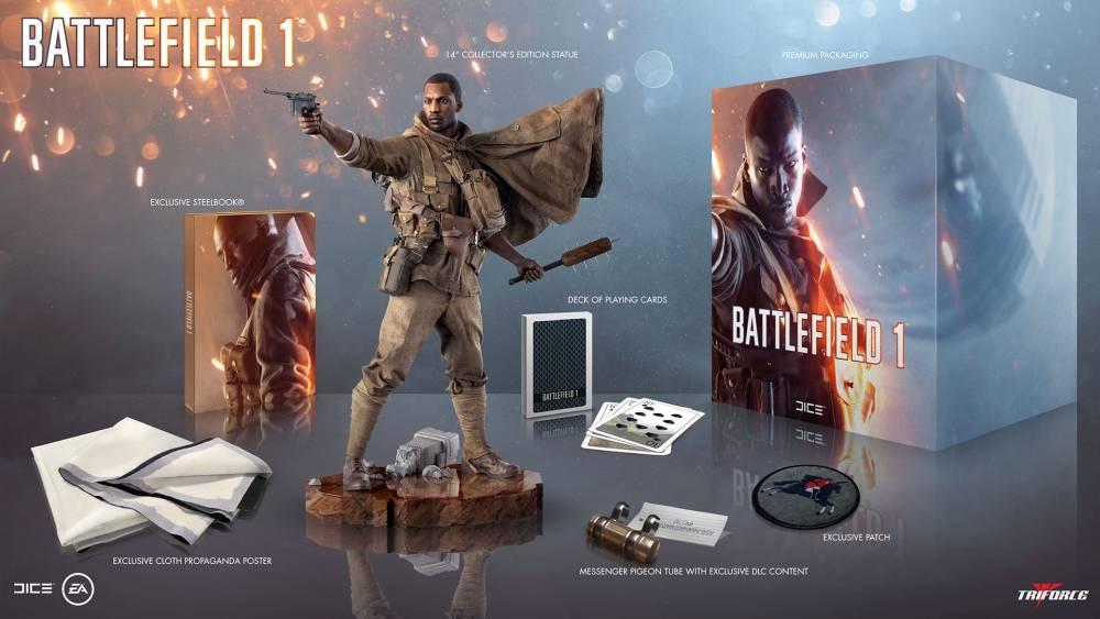 Коллекционное издание Battlefield 1 (без игры) 0