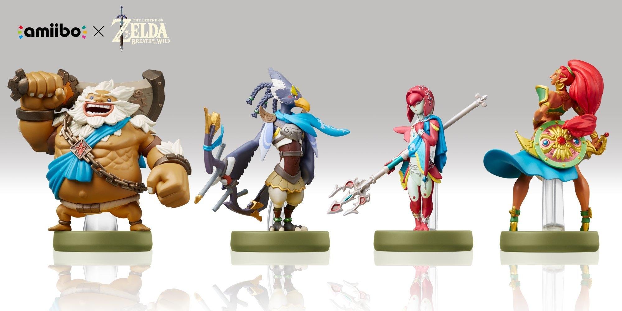 Набор фигурок Nintendo Amiibo Коллекция The Legend of Zelda 0