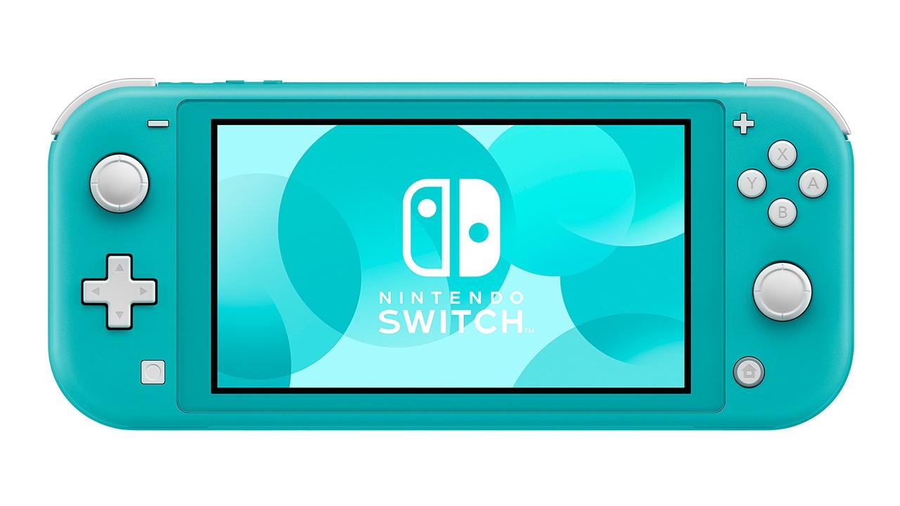 Портативная игровая приставка Nintendo Switch Lite Turquoise 0