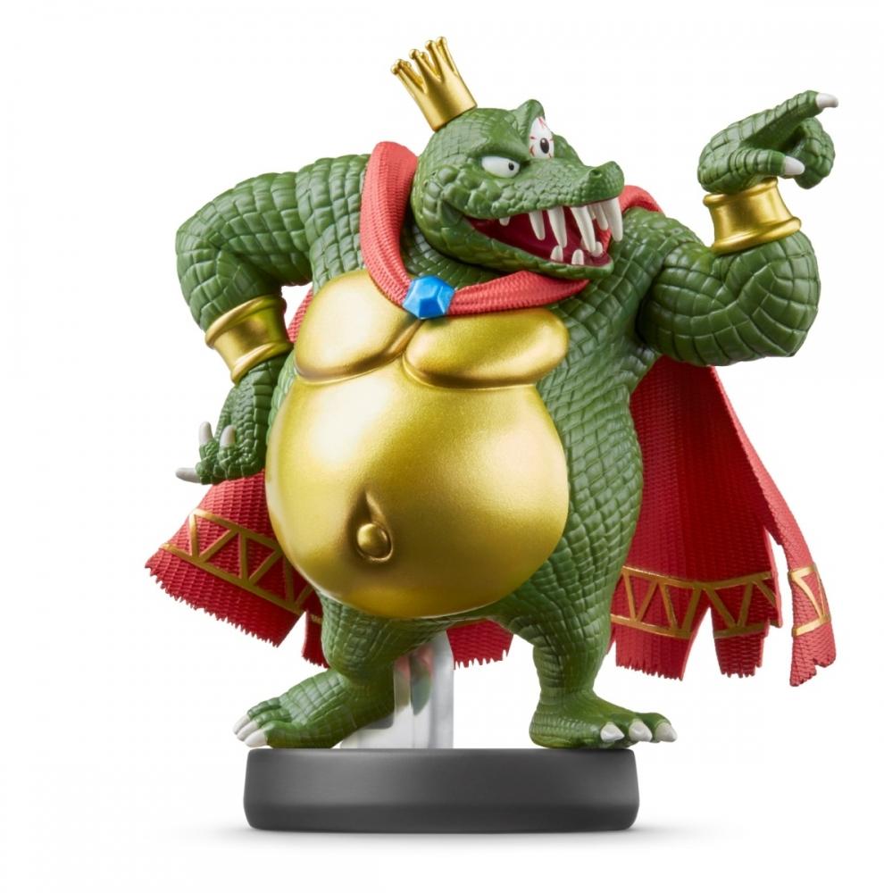 Фигурка Nintendo Amiibo Smash - King K Rool  0