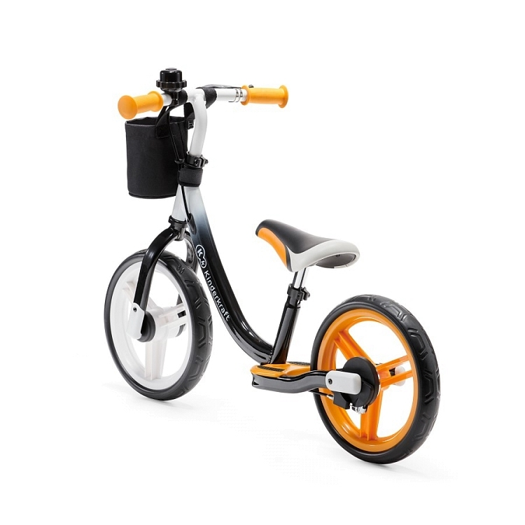 Беговел KinderKraft Space Orange с ручным тормозом 0