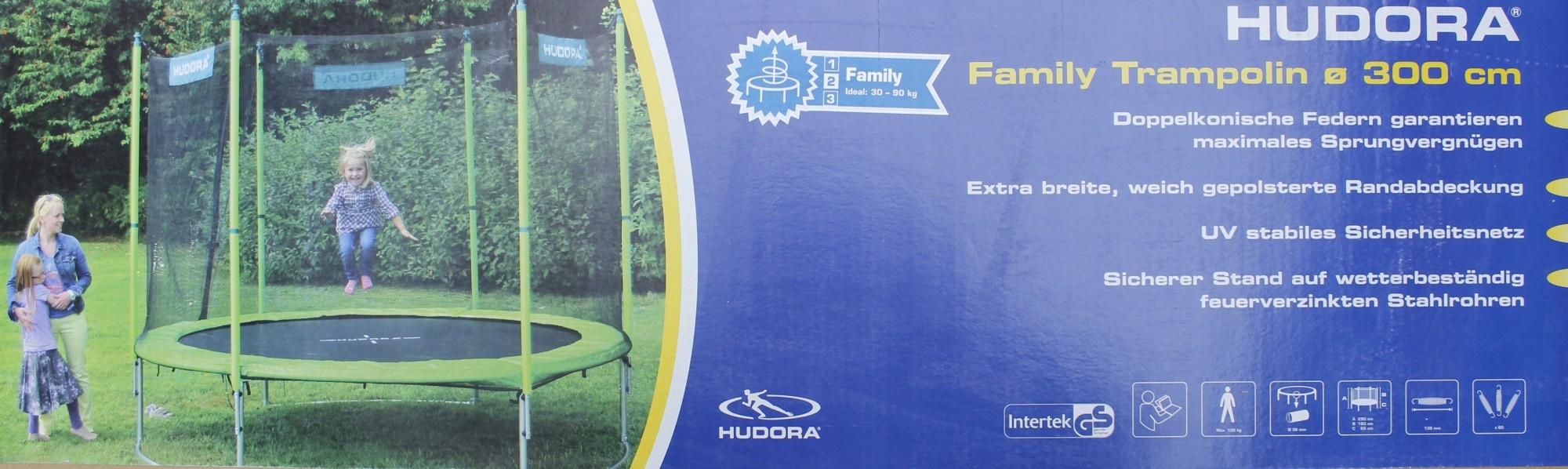 Батут Hudora Family 300см 0