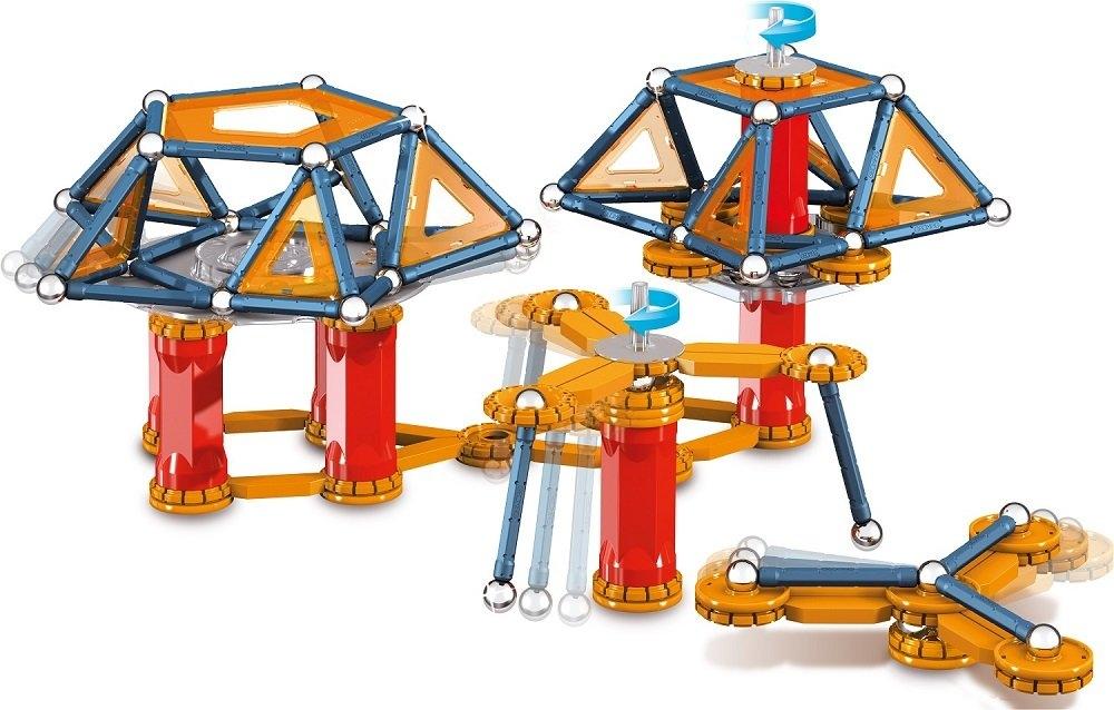 Магнитный конструктор Geomag Mechanics 222 детали 0