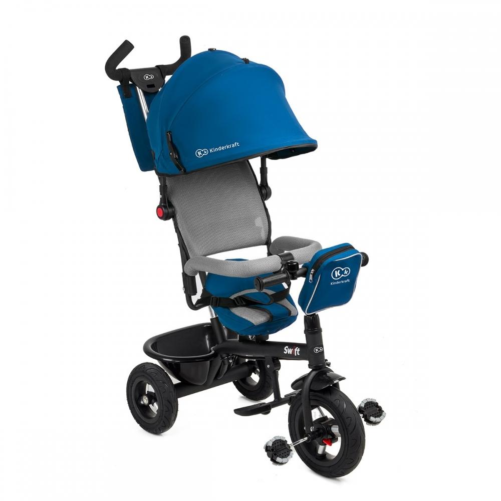 Трехколесный велосипед KinderKraft Swift Blue 1