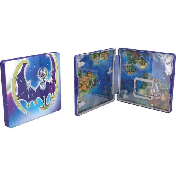 Игра Nintendo 3DS Pokemon Moon Fan Edition Steelbook 0