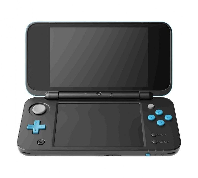 New Nintendo 2DS XL Blue - Black (PAL) 0