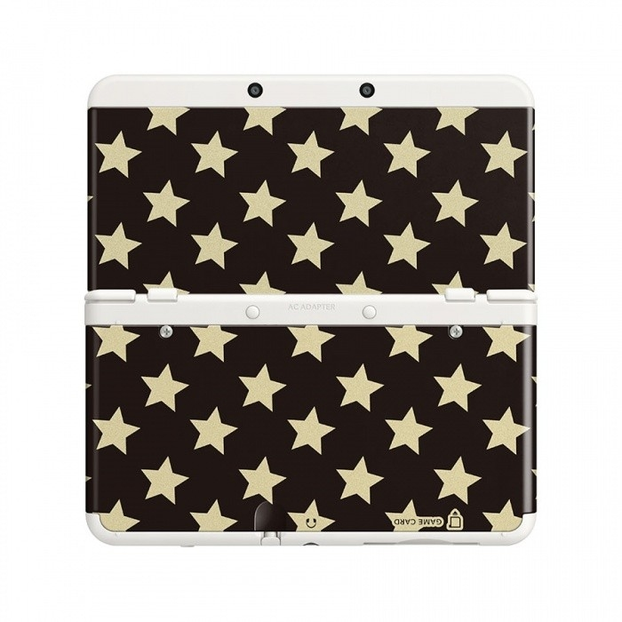 Декоративные крышки NEW 3DS COVER PLATE GOLD STARS 0