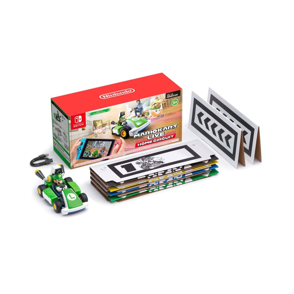 Mario Kart Live: Home Circuit - Luigi Set (Nintendo Switch) 0