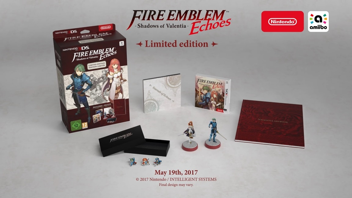 Игра Nintendo 3DS Fire Emblem Echoes Shadows of Valentia Special Edition  0