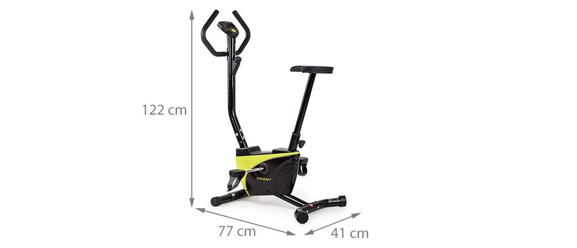 Велотренажер Fitkraft Alfa 2 0