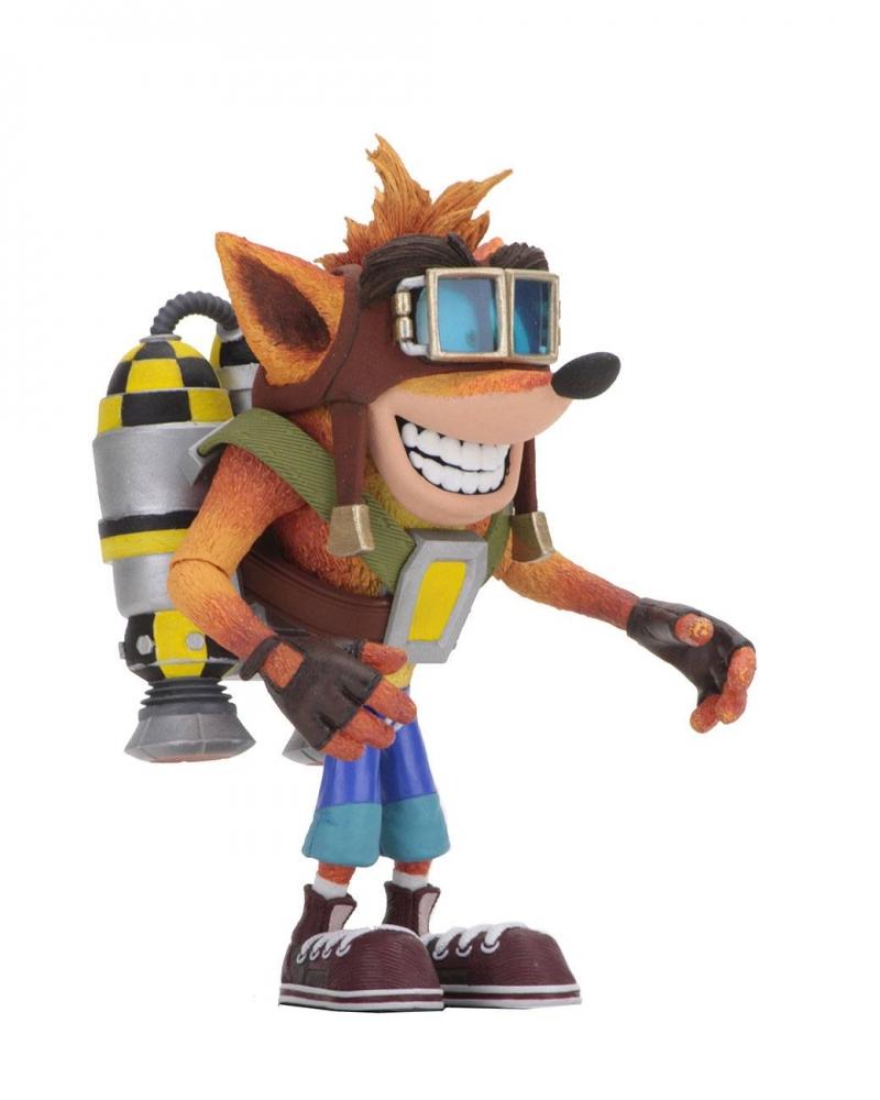 Фигурка Crash Bandicoot Deluxe Jetpack 14 см 0