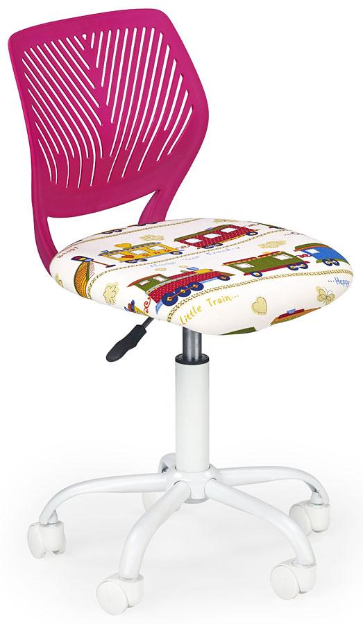Детское компьютерное кресло Halmar Bali Pink
