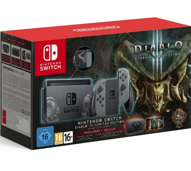 Портативная игровая приставка Nintendo Switch Diablo III Eternal Collection Nintendo Switch