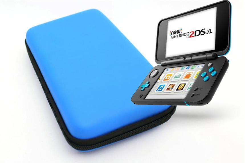 Чехол для New Nintendo 2DS XL Blue
