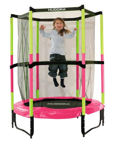 Батут для детей Hudora 140см Pink