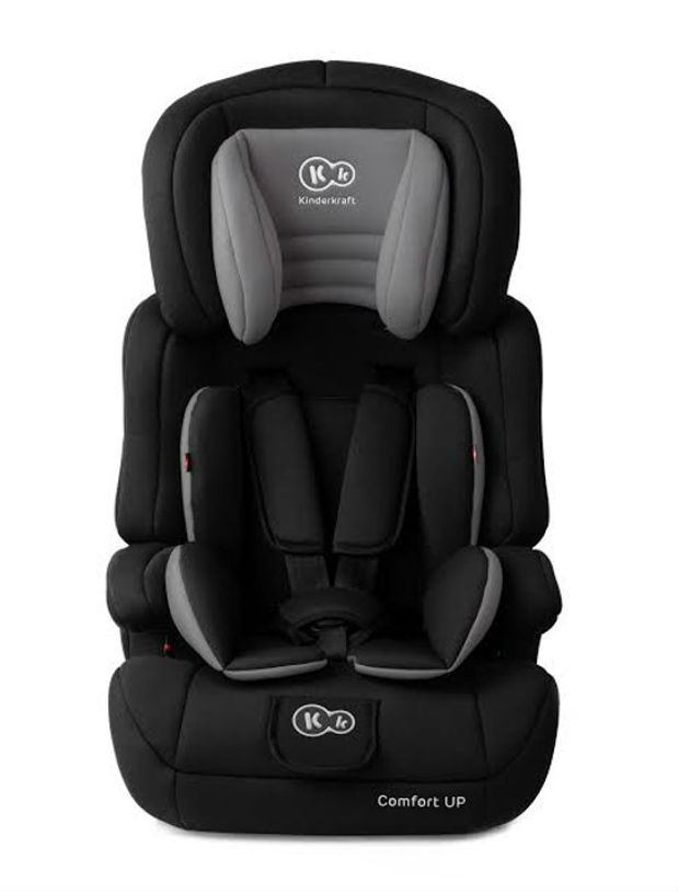 Автокресло Kinderkraft Comfort Up Black