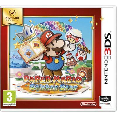 Игра Nintendo Selects 3DS Paper Mario Sticker Star