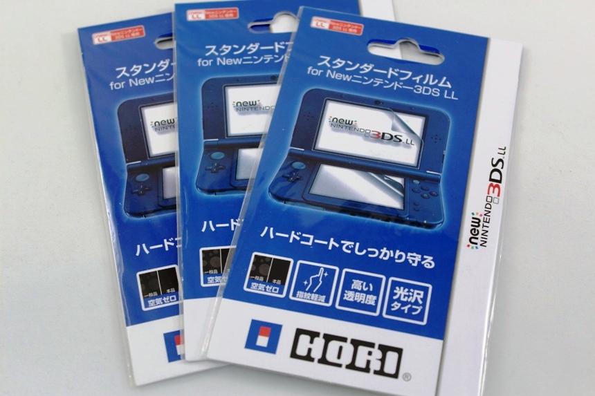 Защитная пленка HORI для New Nintendo 3DS XL