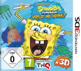 Игра Nintendo 3DS SpongeBob SquigglePants