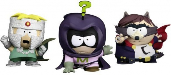 Набор из 3 шт фигурок Ubisoft South Park Prof Chaos Merch