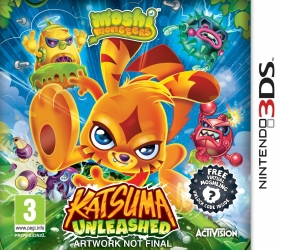 Игра Nintendo 3DS Moshi Monsters Katsuma Unleashed (PAL)