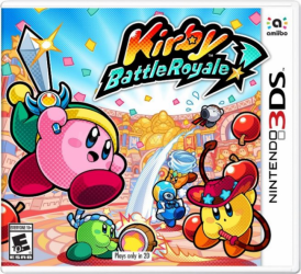Игра Nintendo 3DS Kirby Battle Royale (PAL)