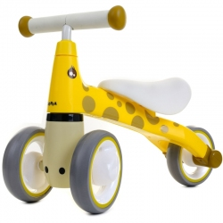 Беговел Junioria Mini Bike Giraffe Yellow
