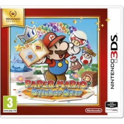 Игра Nintendo Selects 3DS Paper Mario Sticker Star